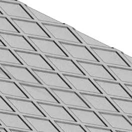 Melegen hengerelt gyémánt mintás acél lemez