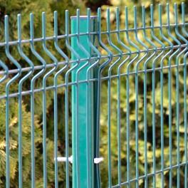 Festett kerítésoszlop